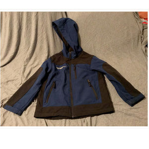 Boys Sz 7/8 Free Country Weather Resistant Jacket